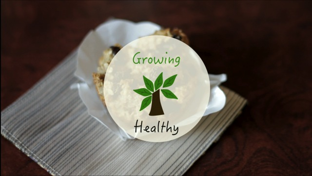 Growing Healthy Recipe No. 1: Hearty Oat Muffins