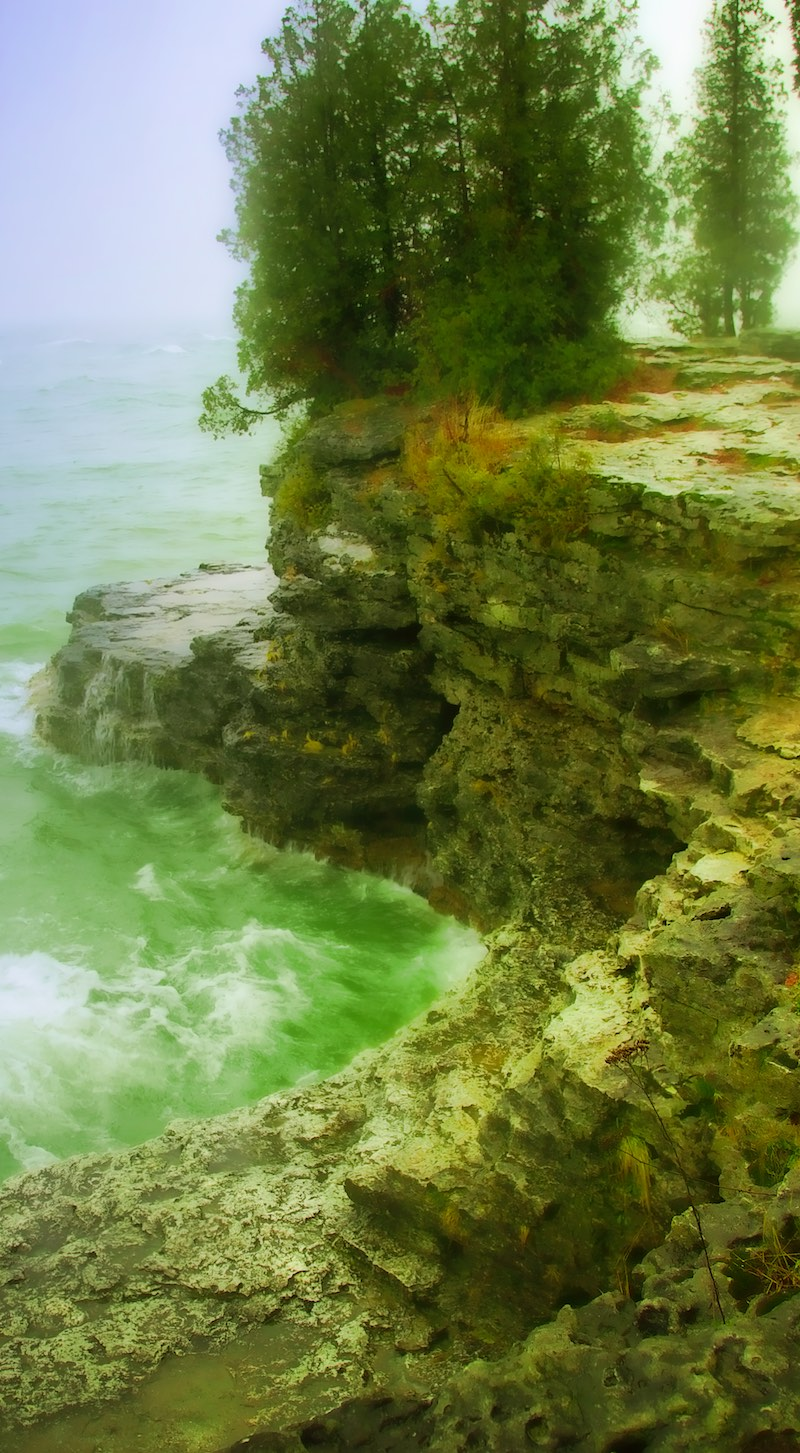 The Storm at Cave Point | Featured Articles